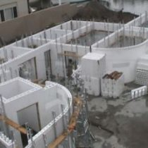 insulated concrete forms - ICF